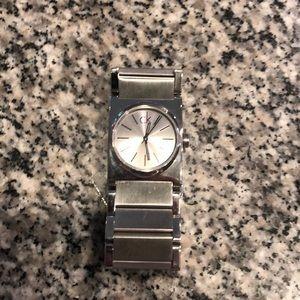 Calvin Klein bulky watch.